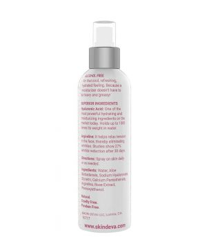 facial hydrating spray with rose extract